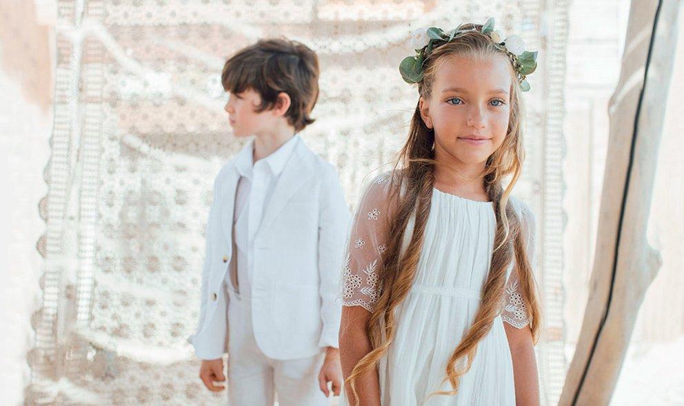Vêtement Cérémonie Fille Et Garçon, Robe, Tenue Cortège