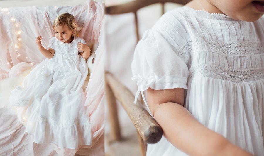 Robe de bapteme fille cyrillus