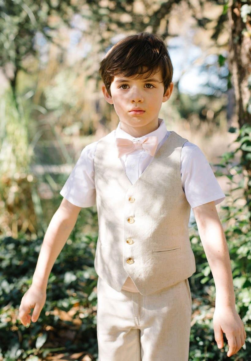 veste costume beige bebe