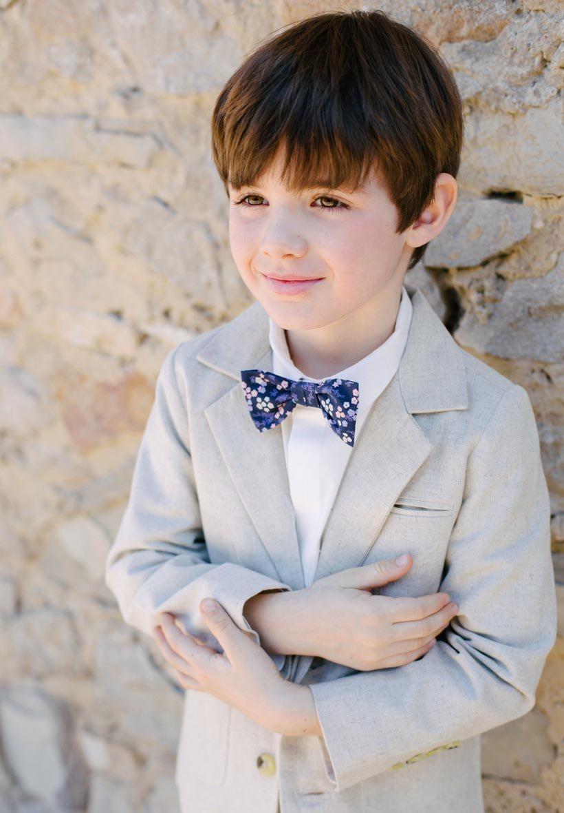 veste de costume lin enfant pour mariage et c233r233monie