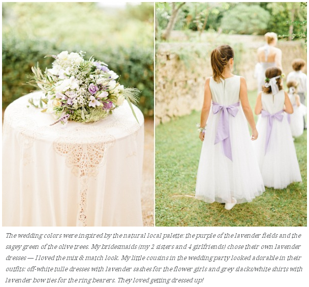 article style me pretty flowergirls et pageboys