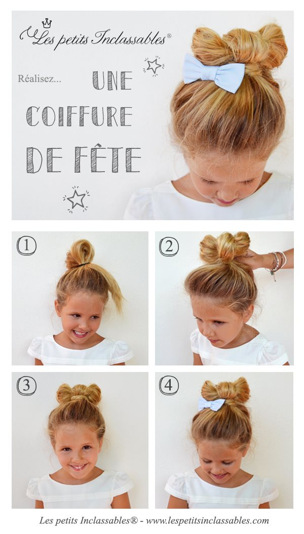 tutoriel coiffure de no l pour fillette. Black Bedroom Furniture Sets. Home Design Ideas
