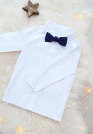 chemise c r monie gar on et b b blanche pour mariage. Black Bedroom Furniture Sets. Home Design Ideas