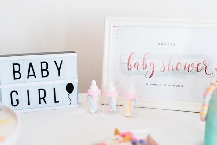 Le blog mariage de la mode enfantine boh me et trendy - Organiser une baby shower ...