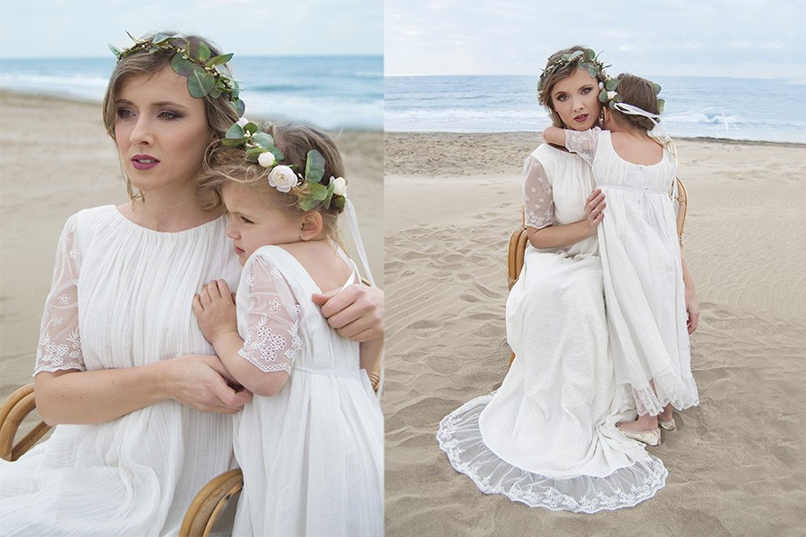 Robe Maman Et Fille Ceremonie